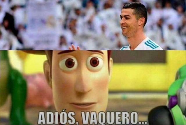 Lágrimas y tristeza en memes por salida de Cristiano Ronaldo del Real Madrid