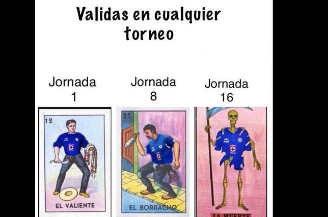 Cruz Azul pierde con Puebla y tuiteros los tunden con memes