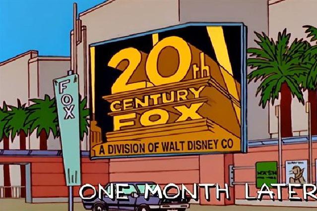 Memes y parodias: Los Simpson predijeron que Disney compraría Fox