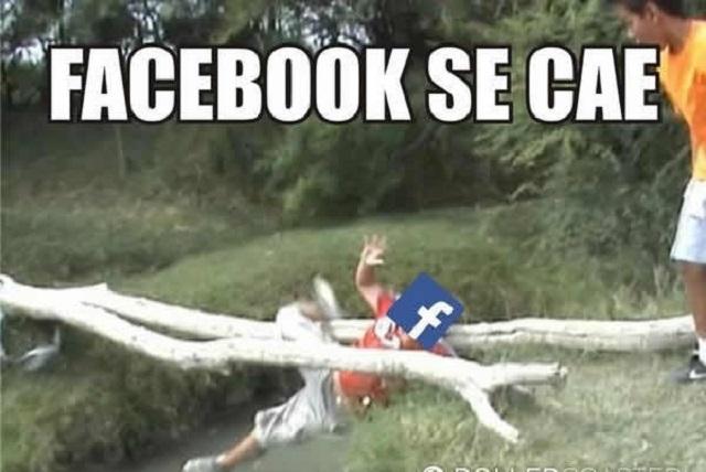 Se cae Facebook y usuarios corren a Twitter para burlarse con memes