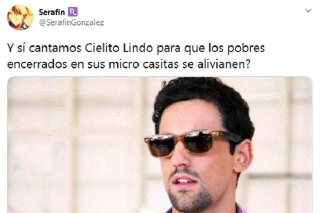 Video: Famosos mexicanos cantan Cielito Lindo y Twitter se llena de memes