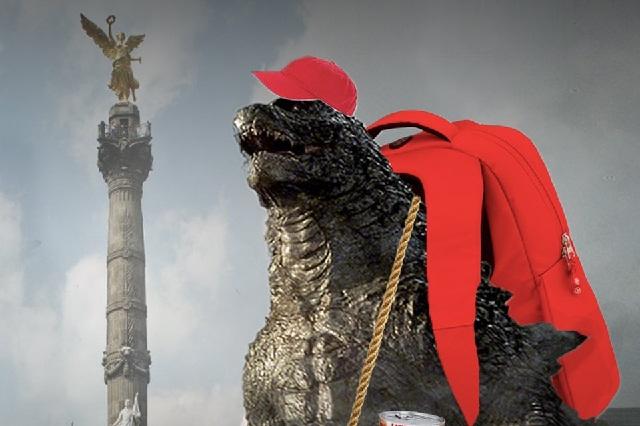 Reciben a Godzilla en México con divertidos memes