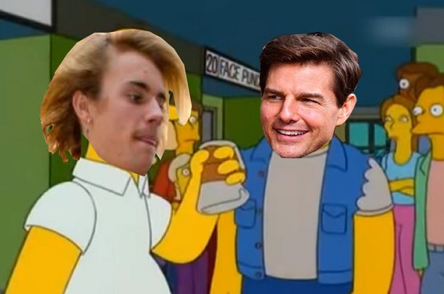 Memes se burlan del reto de Justin Bieber a Tom Cruise