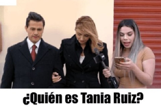 Tanía Ruiz, Peña Nieto y hasta La Gaviota en memes