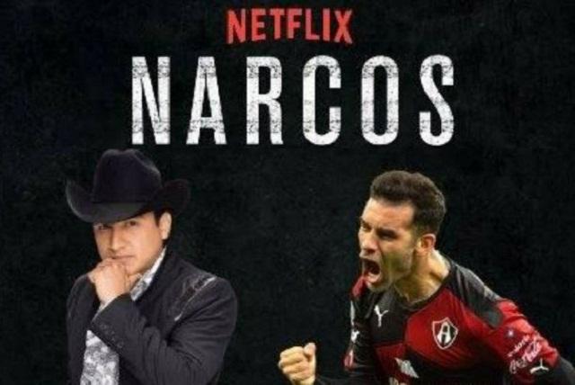 ¿Narcos? Con memes se burlan de Julión Álvarez y Rafa Márquez