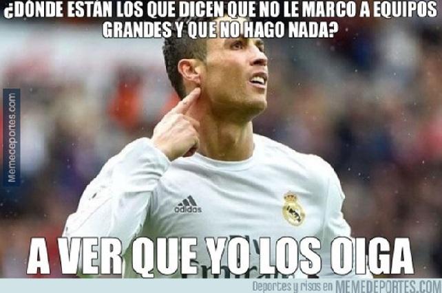 10 memes de la remontada del Real Madrid en la Champions League