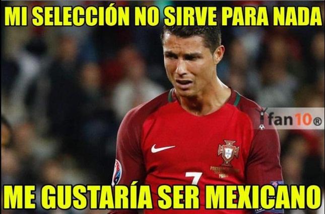 Los memes de la eliminación de Portugal y las burlas a Cristiano Ronaldo