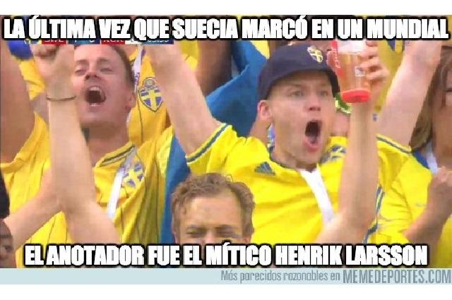 Los memes de la victoria de Suecia sobre Corea del Sur