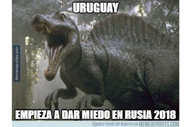 Memes celebran triunfo de Uruguay y ¿ponen a temblar a rivales?