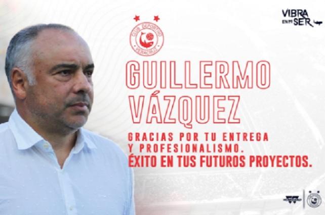 Memo Vázquez se hartó y renunció como técnico de Veracruz
