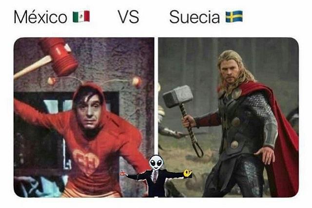 Memes enfrentan al Chapulín Colorado contra Thor: El tri perdió pero calificó