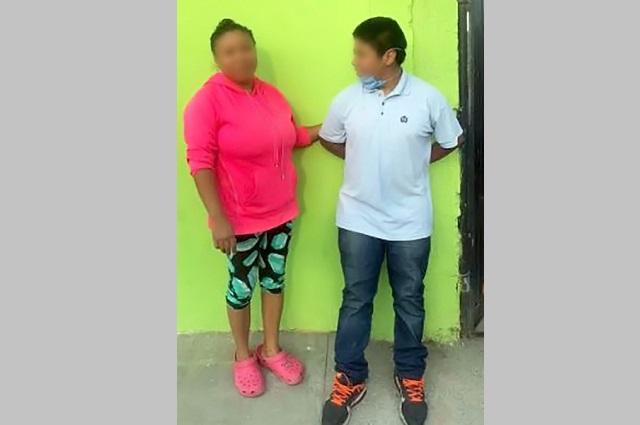 Hallan a menor extraviado y lo entregan a su madre en Puebla