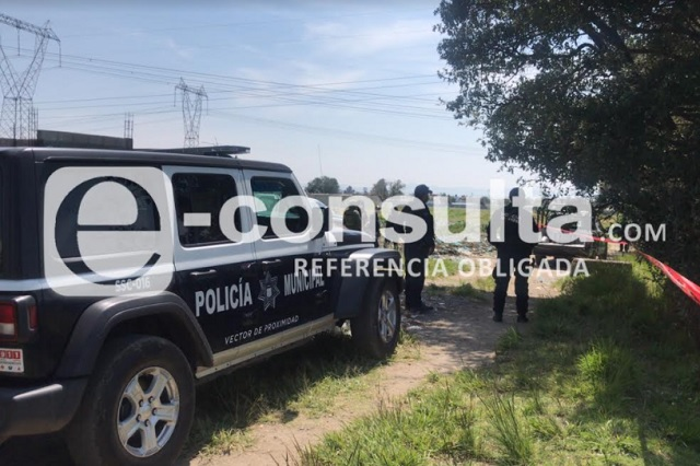Cadáver de un menor aparece en barranca de Tlaltepango