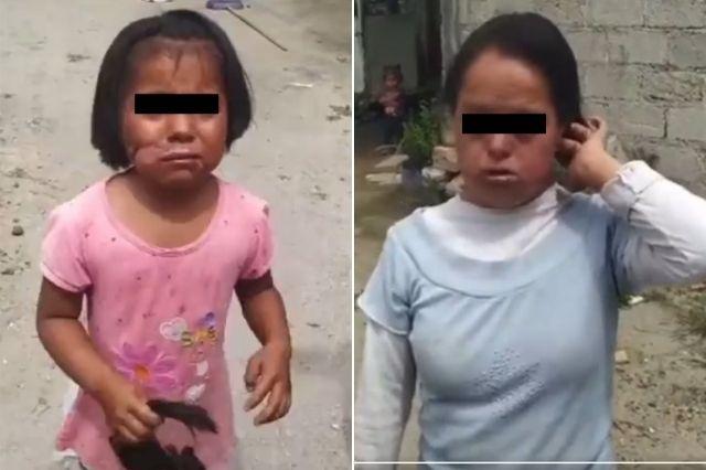 Rescatan a menores de edad maltratadas en Tecamachalco