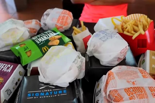 ¿Cuánto pagarías si pidieras todo el menú de McDonald's?