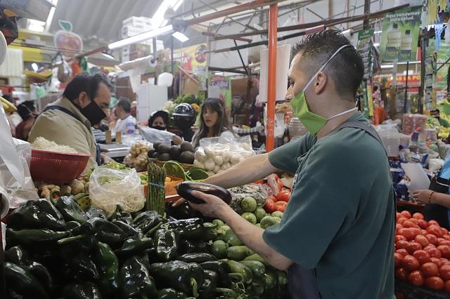 Inflación en Puebla creció apenas unas décimas en julio
