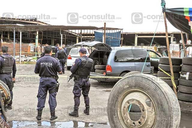 Siguen a ladrones de autopartes para balearlos en el Mercado Unión