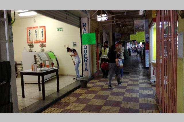 Cierran Mercado 16 de Marzo por cinco días en Tehuacán
