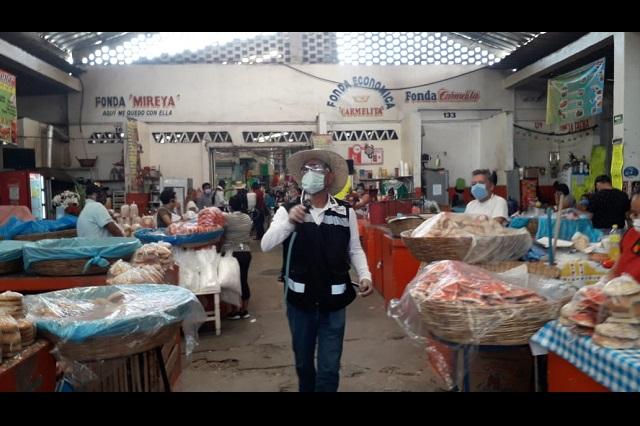 Intensifican medidas en Acatlán por primer caso de Covid-19