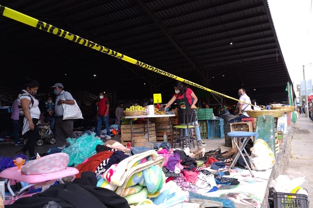 Habrá mercado nocturno en Tehuacán por Covid-19
