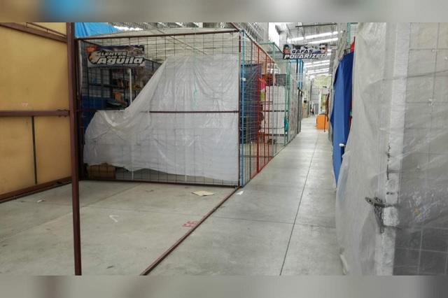 Buscan recuperar 50% de espacios sin actividad en mercado Benito Juárez