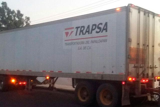 Recupera la policía 2 cajas secas con 60 toneladas de azúcar