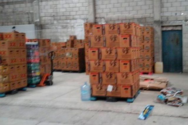 Encarcelan a 3 sujetos por robo de camión y 200 cajas de cerveza