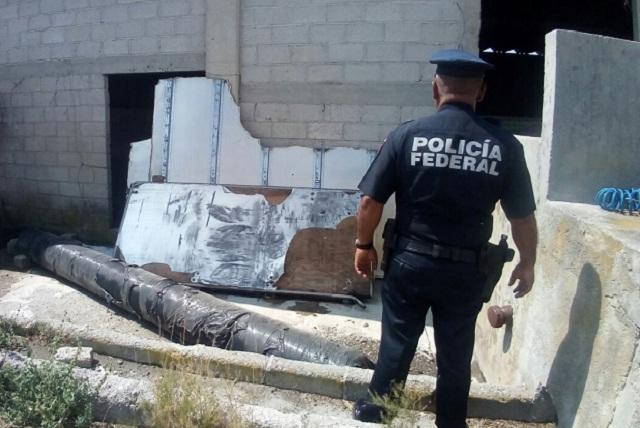FGE y Policía Federal recuperan camión con 1 mdp en mercancía