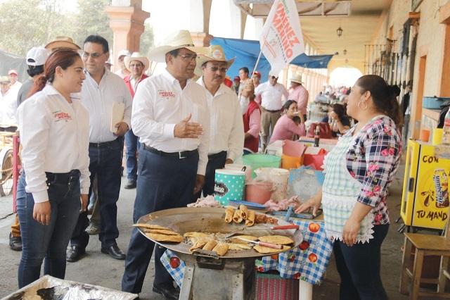 Plantea Jiménez Merino detonar la economía del Triángulo Rojo