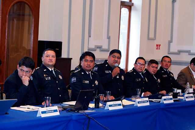 Sesiona la Mesa de Seguridad y Justicia del Ayuntamiento de Puebla