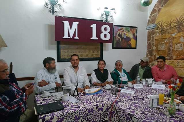 PRI y PAN devastaron el agro, señala el M18; defenderá voto por Morena
