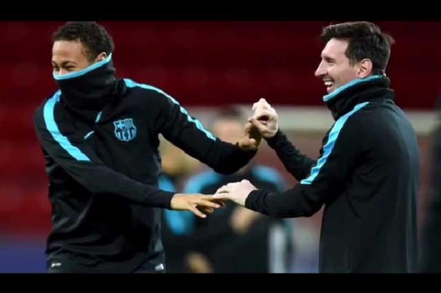 Lionel Messi le dice adiós a Neymar con emotivo video y le desea suerte