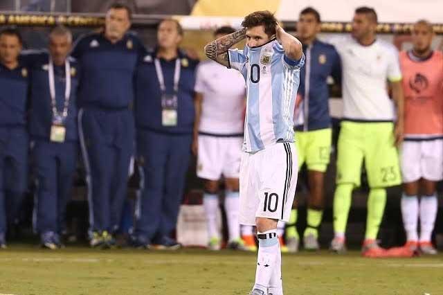 Lionel Messi anuncia su retiro de la Selección Argentina