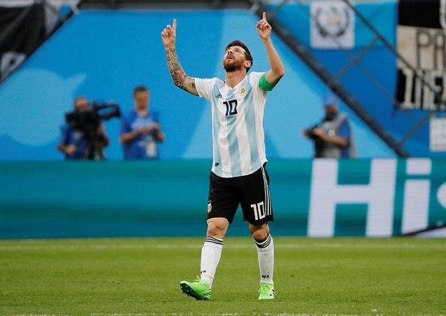 Este es el gol de Lionel Messi con el que Argentina vence a Nigeria en el 1T