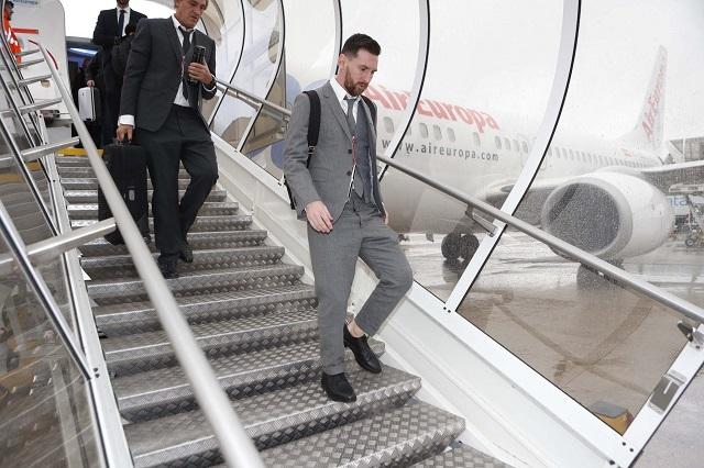 Aún lesionado, Messi podría jugar en la Champions