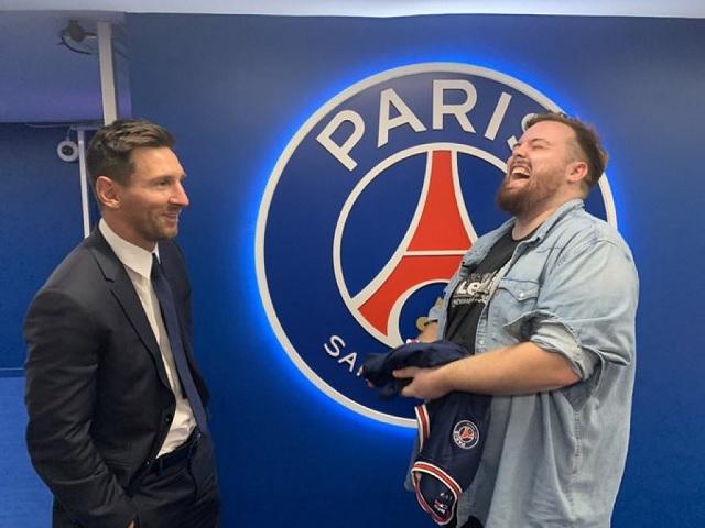 Ibai Llanos logra la primera entrevista a Messi en París