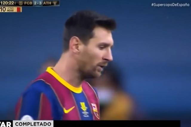 Expulsión de Messi por agresión duraría hasta cuatro partidos