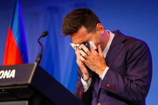 21 años de grandeza resumidos en un llanto: el adiós de Messi