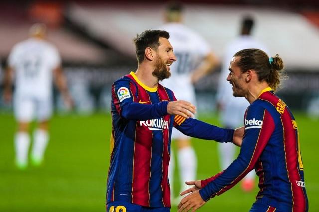 Victoria y doblete para Messi en su partido histórico con Barcelona