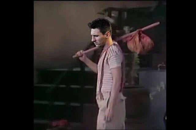 Messi el blanco de memes tras derrota de Argentina