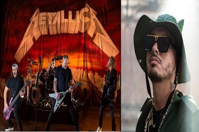 """""""Colaboración de Metallica y J Balvin marketing puro"""", dicen expertos"""