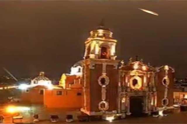 Un cuerpo celeste y no un meteorito lo que cayó en Puebla