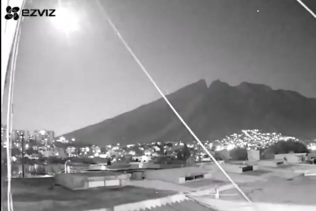 ¿Qué encontraron donde cayó supuesto meteorito en Tamaulipas?
