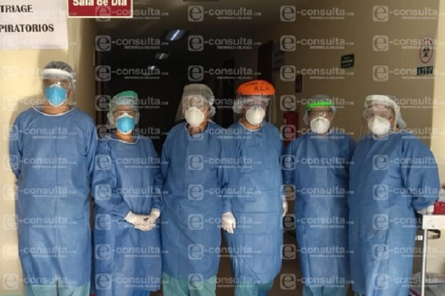 Enfermera de Metepec cuenta su experiencia diaria frente al Covid-19