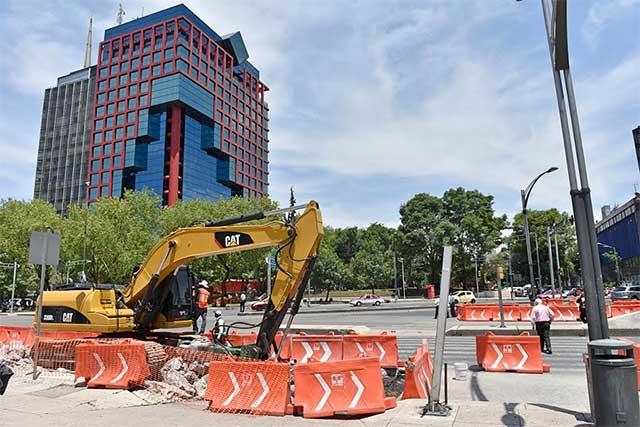 Juez autoriza que continúe la construcción de la Línea 7 del Metrobús