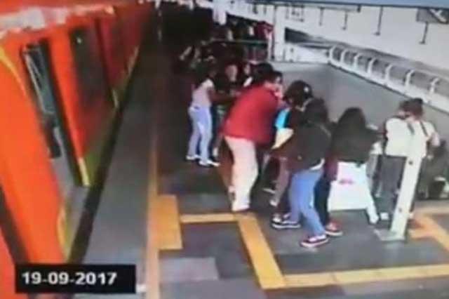 Publican video de cómo se vivió en el Metro el sismo del 19 de septiembre