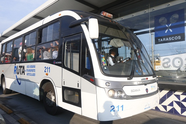 Saldrán 410 micros y llegarán 72 autobuses con línea 3 de RUTA