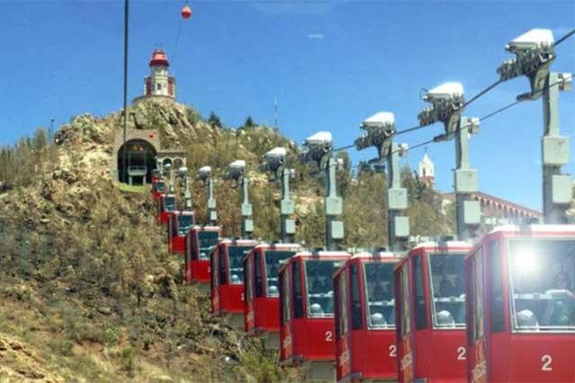 Inaugurarán hoy el Mexicable, teleférico que se usará como transporte público