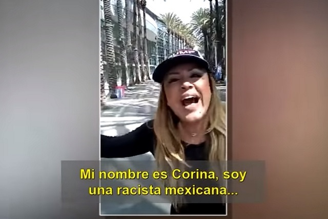 Mexicana pro Trump se autoproclama racista y ataca migrantes