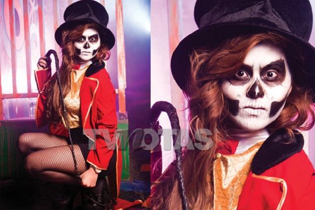 5 sexys famosas mexicanas celebran el Día de muertos y Halloween